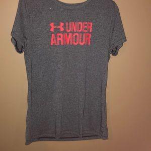 Grey Under Armour T-Shirt